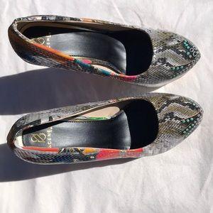 Scene high heels